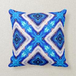 Kaleidoscope Design No BW09 Throw Pillow
