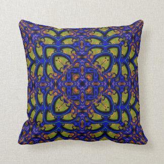 Kaleidoscope Design No. BW2 Pillow