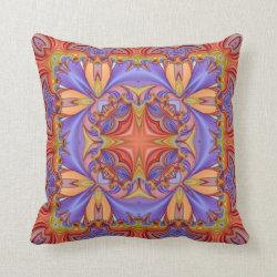Kaleidoscope Design No CT206 Throw Pillow