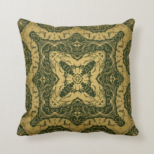 Kaleidoscope Design No.EGS4 Throw Pillow