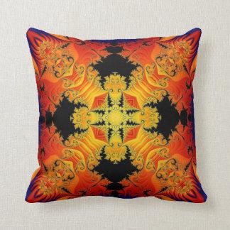 Kaleidoscope Design No FF05 Throw Pillows