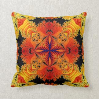 Kaleidoscope Design No FF19 Throw Pillow