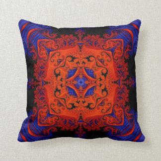 Kaleidoscope Design No FF25 Throw Pillow