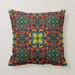 Kaleidoscope Design No  K003 Throw Pillow