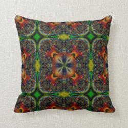 Kaleidoscope Design No  K005 Throw Pillow