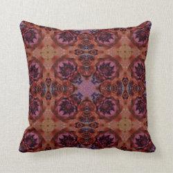 Kaleidoscope Design No  K006 Throw Pillow
