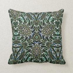 Kaleidoscope Design No  K010 Throw Pillow