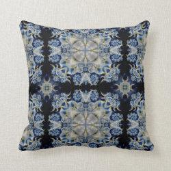 Kaleidoscope Design No  K031 Throw Pillow