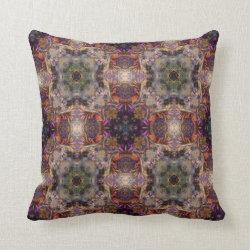 Kaleidoscope Design No  K045 Throw Pillow