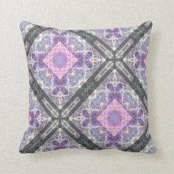Kaleidoscope Design No  K059 Throw Pillow