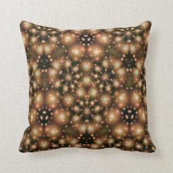Kaleidoscope Design No K26 Throw Pillow