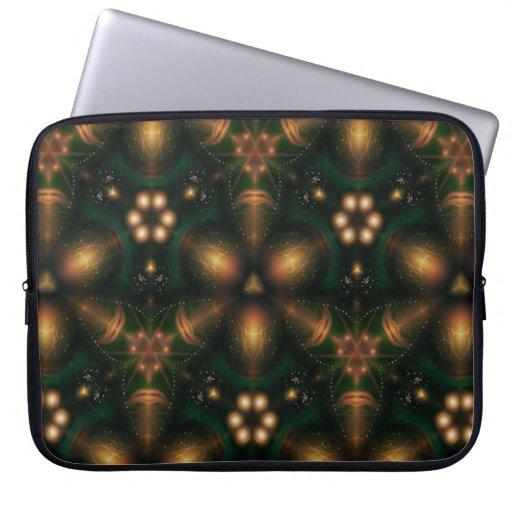 Kaleidoscope Design No K28 Laptop Sleeve