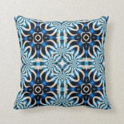 Kaleidoscope Design No K35 Throw Pillow