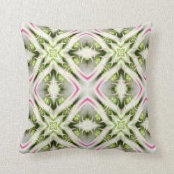 Kaleidoscope Design No K40 Throw Pillow