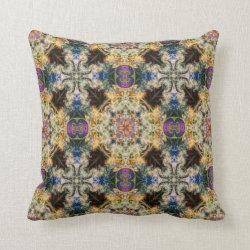 Kaleidoscope Design No K43 Throw Pillow