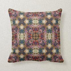 Kaleidoscope Design No K44 Throw Pillow