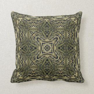 Kaleidoscope Design No. MG4 Throw Pillows