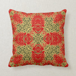 Kaleidoscope Design No.REGS3 Throw Pillow