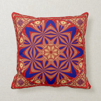 Kaleidoscope Design No RF04 Throw Pillows