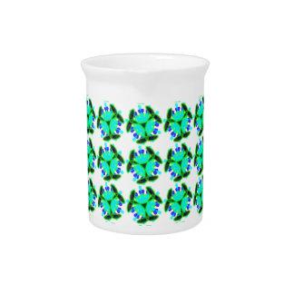 kaleidoscope design pitcher