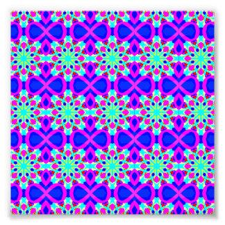 Kaleidoscope Design Pop Art  6x6 Photo Enlargement
