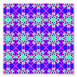Kaleidoscope Design Pop Art  6x6 Photo Enlargement Photo Print