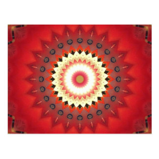 Kaleidoscope Design Postcard