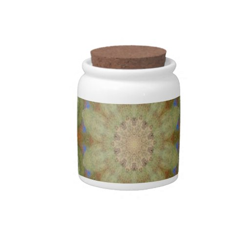 Kaleidoscope design product image-made with love candy jar