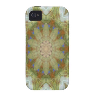 Kaleidoscope design product image-made with love iPhone 4 case