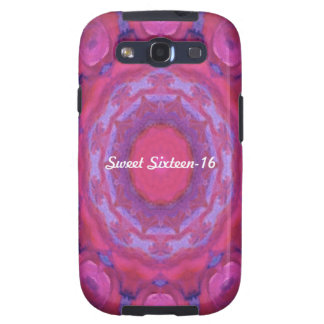 Kaleidoscope design product image-made with love samsung galaxy s3 covers