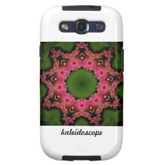 Kaleidoscope design product image-made with love samsung galaxy s3 case