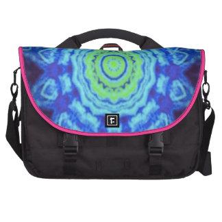 Kaleidoscope design product image-made with love laptop computer bag