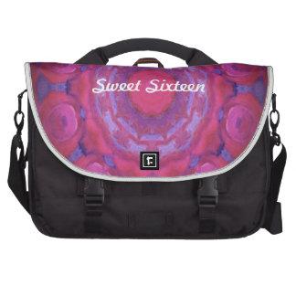 Kaleidoscope design product image-made with love laptop bag