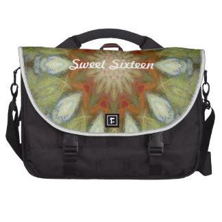 Kaleidoscope design product image-made with love laptop messenger bag