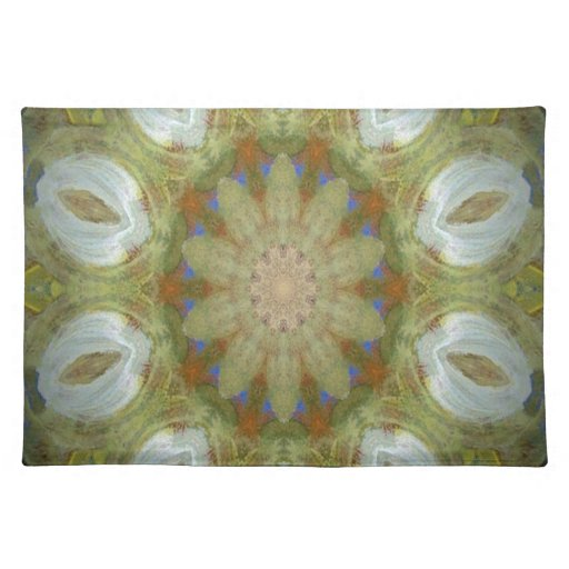 Kaleidoscope design product image-made with love placemats