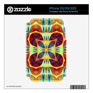 Kaleidoscope Design ST1 Skins For iPhone 3GS