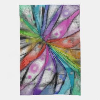 Kaleidoscope Dragonfly Hand Towel