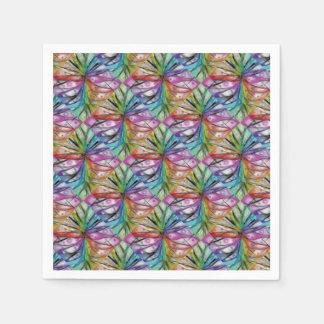 Kaleidoscope Dragonfly Paper Napkin