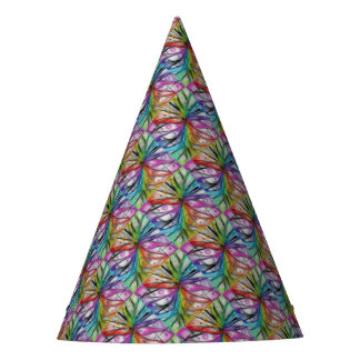 Kaleidoscope Dragonfly Party Hat