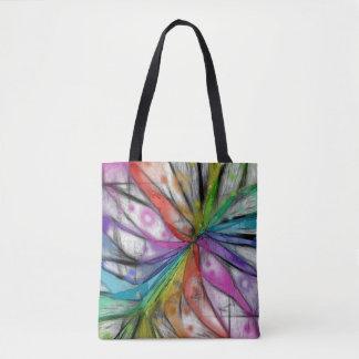 Kaleidoscope Dragonfly Tote Bag