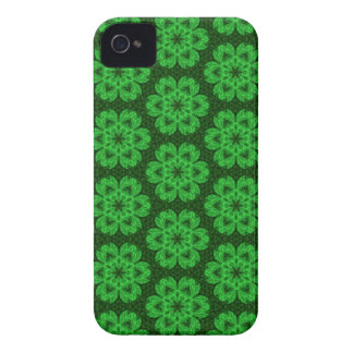 Kaleidoscope Dreams in Shamrock Greens iPhone Case-Mate iPhone 4 Case