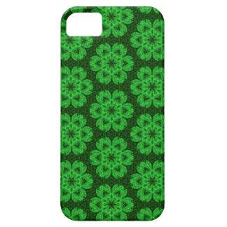 Kaleidoscope Dreams in Shamrock Greens iPhone iPhone SE/5/5s Case