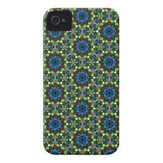 Kaleidoscope Dreams Stained Glass Flower Garden iPhone 4 Cases