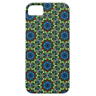 Kaleidoscope Dreams Stained Glass Flower Garden iPhone 5 Cases