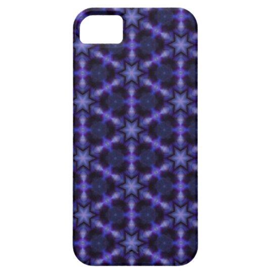 Kaleidoscope Dreams Stars in Blue and Purple iPhone SE/5/5s Case