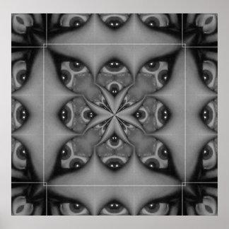 Kaleidoscope Eye III Poster