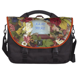 Kaleidoscope FLORAL WREATH Bags For Laptop
