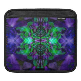 Kaleidoscope flower pattern sleeve for iPads