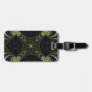 Kaleidoscope Fractal 101 Luggage Tag
