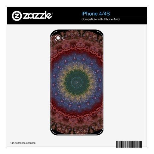 Kaleidoscope Fractal 108 iPhone 4S Skin